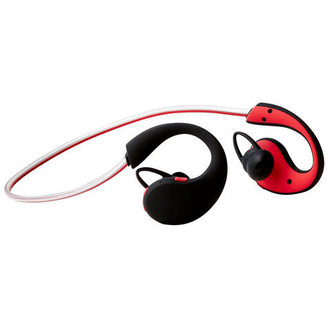 Groov-e GVBT800RD  Action Wireless Bluetooth Sports Headphone/LED Neckband/Red Thumbnail 3
