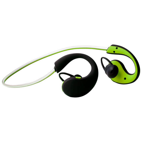 Groov-e GVBT800GN  Action Wireless Bluetooth Sports Headphone/LED Neckband/Green Thumbnail 3