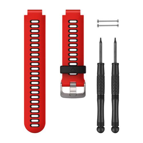 Garmin 010-11251-0N|Replacement Red-Black Watch Band|Forerunner230 235 630 735XT