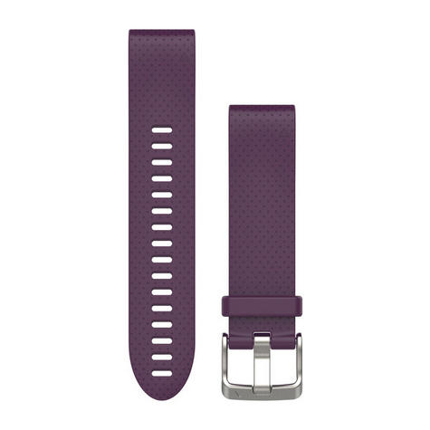NEW Garmin 010-12491-15 Amethyst Quickfit Watch Band 20mm For Fenix 5S Thumbnail 2