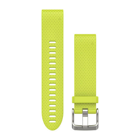 NEW Garmin 010-12491-13 Yellow Quickfit Watch Band 20mm For Fenix 5S Thumbnail 1