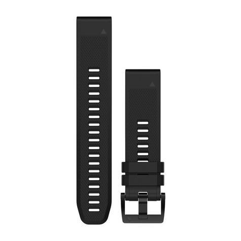 Garmin QuickFit Interchangable Watch Strap Band|20mm|For Fenix 5s|Silicon-Black Thumbnail 3