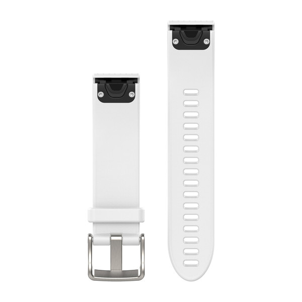 NEW Garmin 010-12491-10 Carrara White Quickfit Watch Band 20mm For Fenix 5S