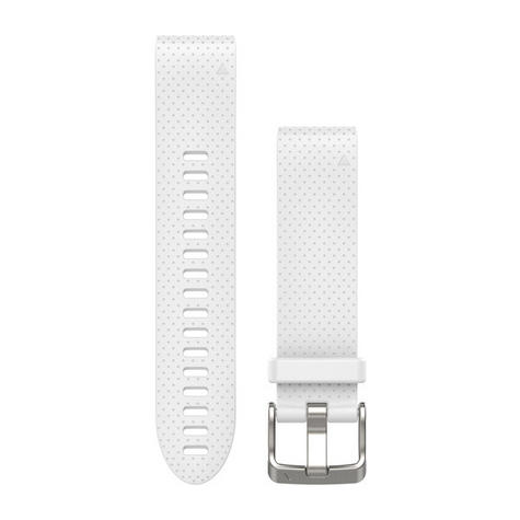 NEW Garmin 010-12491-10 Carrara White Quickfit Watch Band 20mm For Fenix 5S Thumbnail 2