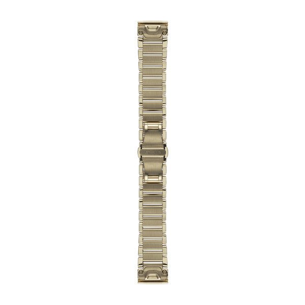 Garmin 010-12491-17|Goldtone Stainless Steel Watch Band Strap|20mm|For Fenix 5S