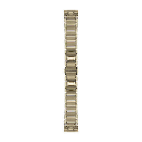 Garmin 010-12491-17|Goldtone Stainless Steel Watch Band Strap|20mm|For Fenix 5S Thumbnail 2