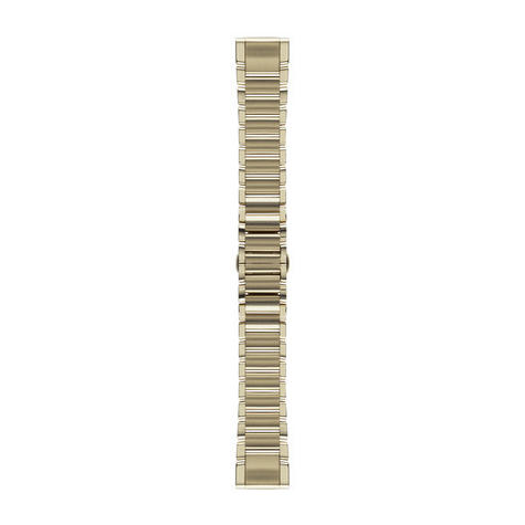 Garmin 010-12491-17|Goldtone Stainless Steel Watch Band Strap|20mm|For Fenix 5S Thumbnail 3