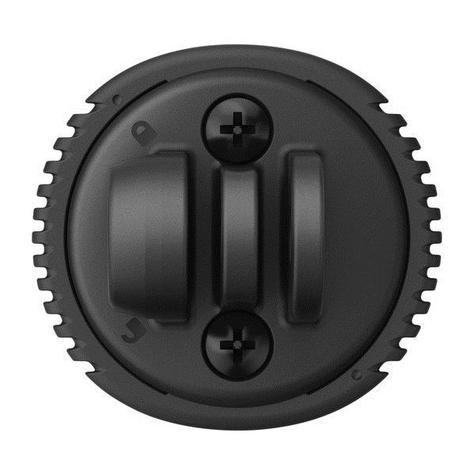 Garmin 010-12494-00 Varia UT800 Quarter Turn To Friction Flange Mount Adapter Thumbnail 2