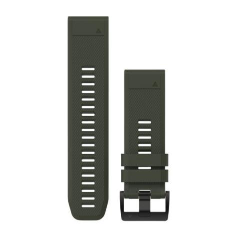Garmin 010-12517-03 Quickfit 26mm Olive Silicone Watch Band For Quatix 3/Fenix 3 Thumbnail 1