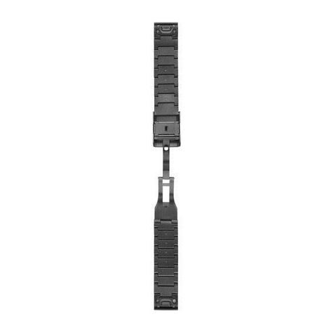 Garmin 010-12496-06|Quickfit Watch Strap Band|Slate Grey Stainless Steel|Fenix 5 Thumbnail 2