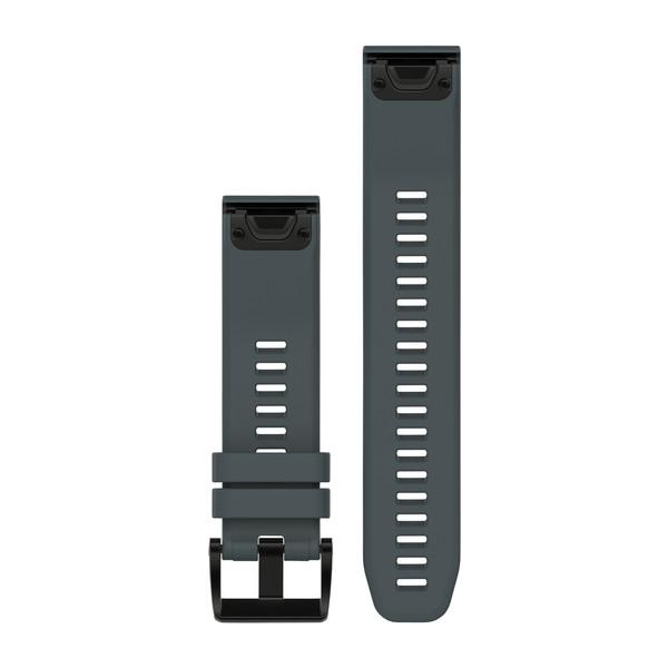 Garmin 010-12496-01 Quickfit Granite Blue Silicone Watch Band Approach S60/Fenix