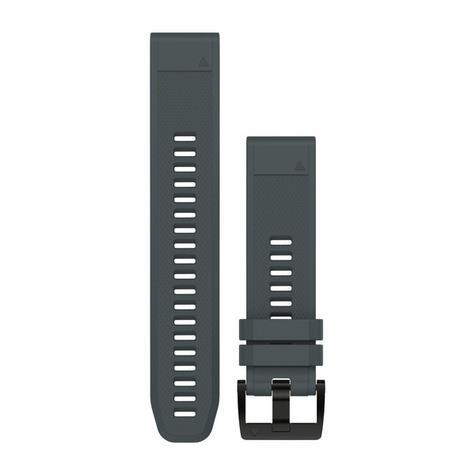 Garmin 010-12496-01 Quickfit Granite Blue Silicone Watch Band Approach S60/Fenix Thumbnail 2