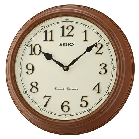 Seiko QXD214B Westminster/Whittington Dual Chime Wall Clock Thumbnail 1