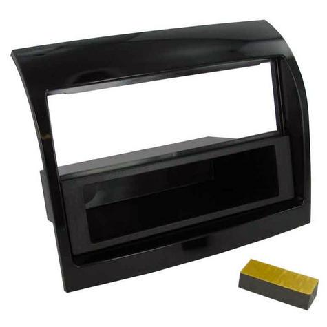 C2 24FT31 Black Single Din Car Stereo Fascia Adaptor Fiat Ducato 2011> Thumbnail 1