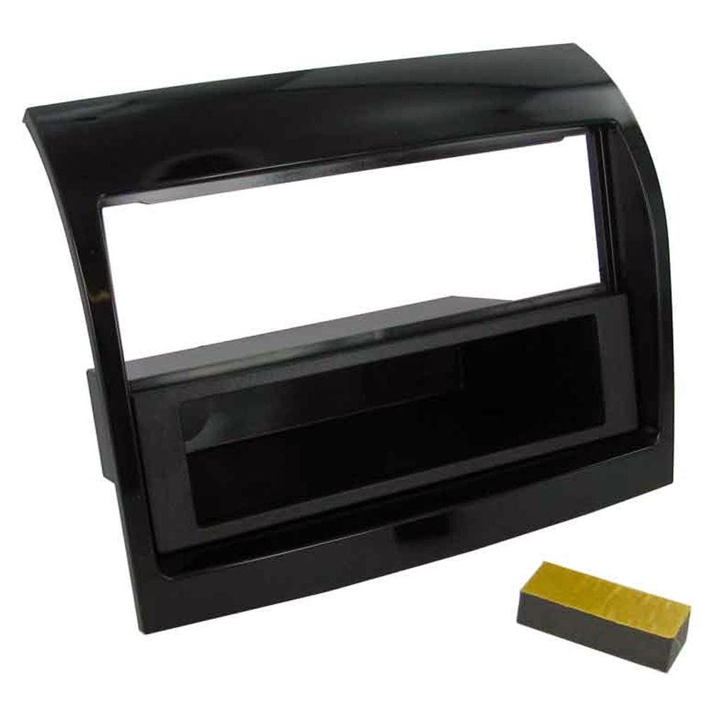 C2 24FT31 Black Single Din Car Stereo Fascia Adaptor Fiat Ducato 2011>