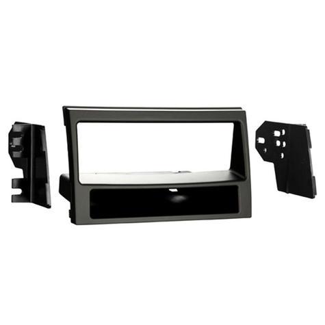 NEW C2 24KI12 Matt Black Single Din Car Stereo Fascia Adaptor Plate For Kia Soul Thumbnail 1