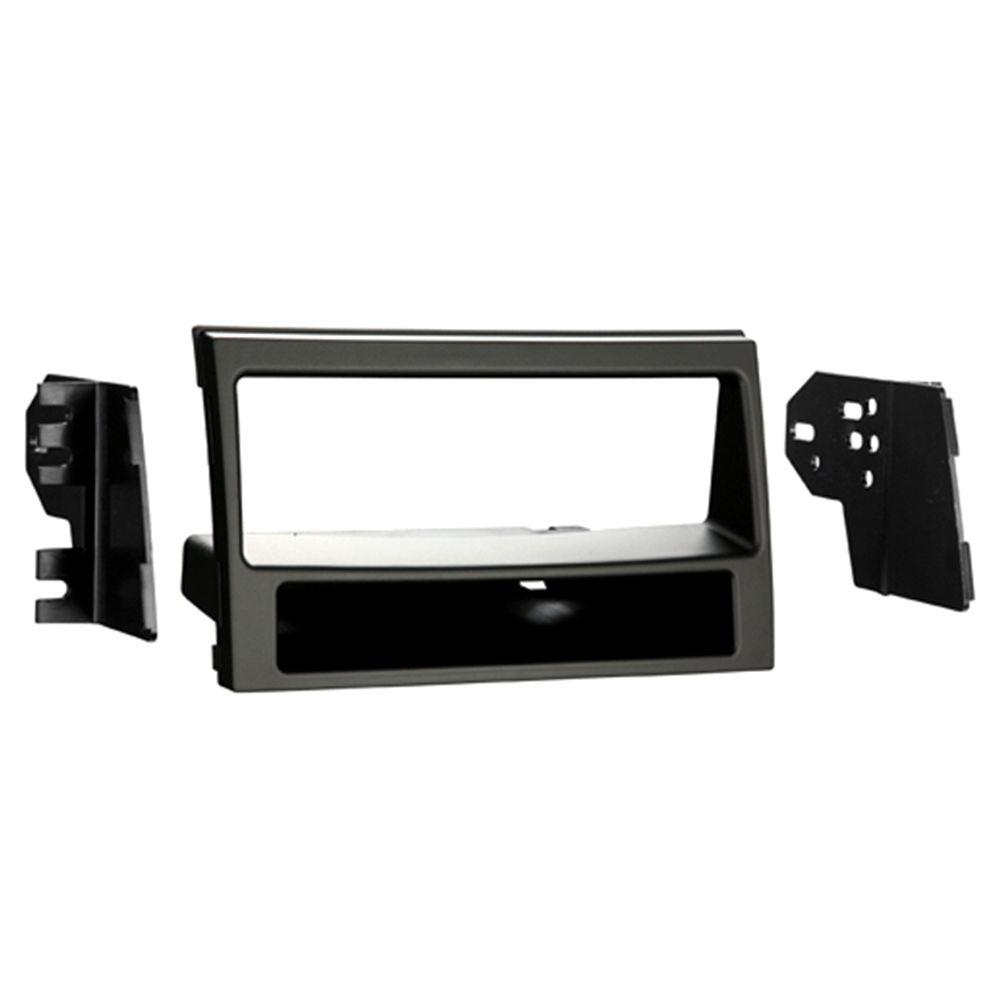 NEW C2 24KI12 Matt Black Single Din Car Stereo Fascia Adaptor Plate For Kia Soul
