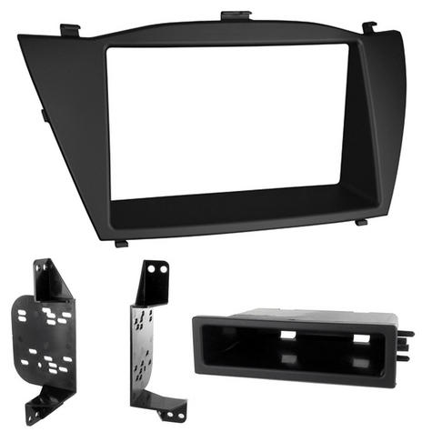 C2 24HY20 Single/Double Din Car Stereo Fascia Adaptor Plate For Hyundai ix35/Tus Thumbnail 1