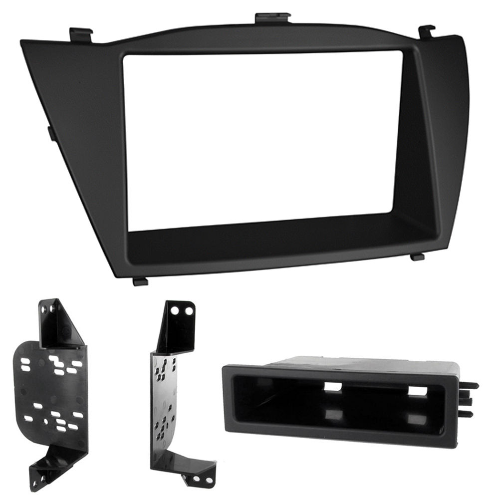C2 24HY20 Single/Double Din Car Stereo Fascia Adaptor Plate For Hyundai ix35/Tus