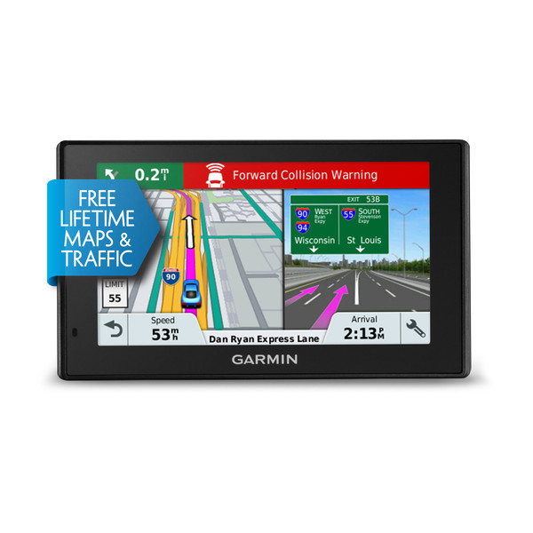 "Garmin 010-01682-12 DriveAssist 51LMT-S 5"" UK & Europe Lifetime Maps/Traffic GPS"
