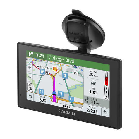 "Garmin 010-01682-12 DriveAssist 51LMT-S 5"" UK & Europe Lifetime Maps/Traffic GPS Thumbnail 5"