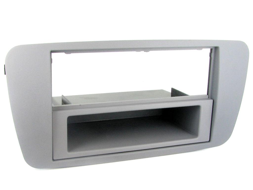 NEW C2 24ST10 Grey Conemara Car Stereo Fascia Adaptor Plate For Seat Ibizia 2008