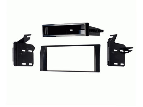 C2 24TY07 Single/Double Din Black Car Stereo Fascia Adaptor Plate For Toyota Cam Thumbnail 1