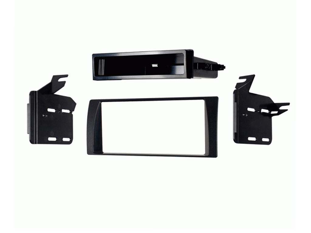 C2 24TY07 Single/Double Din Black Car Stereo Fascia Adaptor Plate For Toyota Cam