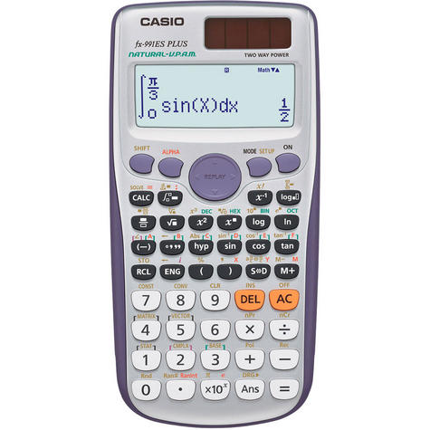 Casio FX991ESPLUS Exam GCSE A-Level Scientific Calculator Trigonometry Stats Thumbnail 2