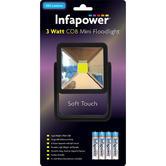 Infapower F047 3 Watt COB Mini Floodlight / AAA Batteries Included /