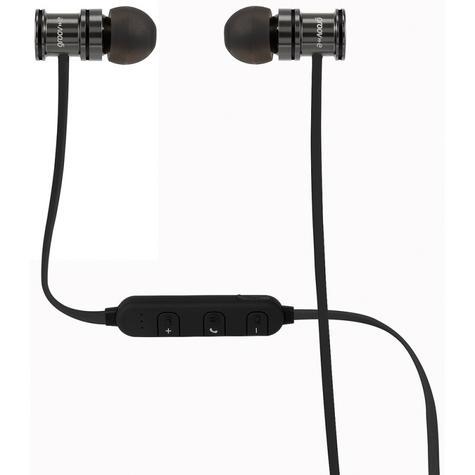 Groov-e GVBT600SR Bullet Buds Wireless Bluetooth Metal Case Earphones-Silver Thumbnail 2