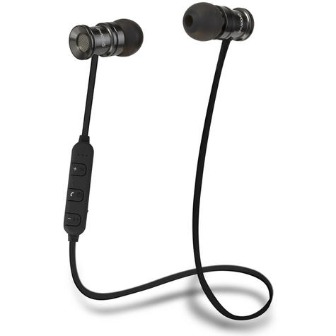 Groov-e GVBT600SR Bullet Buds Wireless Bluetooth Metal Case Earphones-Silver Thumbnail 3