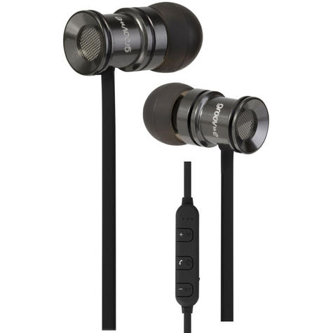 Groov-e GVBT600SR Bullet Buds Wireless Bluetooth Metal Case Earphones-Silver Thumbnail 4