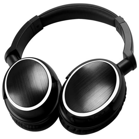 Groov-e GVBT700BK Ultra Wireless Bluetooth Stereo Headphone/Powerful Sound/Black Thumbnail 3
