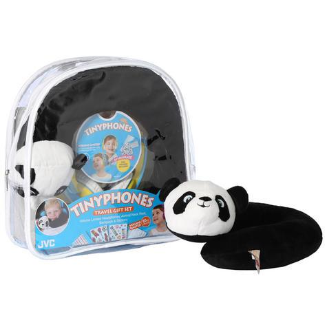 JVC HAKD5TRAV-Y Tinyphones Travel Gift Set-Headphones/Neck Pillow/Backpack/New Thumbnail 2
