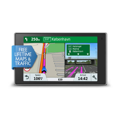Garmin DriveLuxe 51 LMT-D GPS Satnav FREE LIFETIME Europe Maps & Traffic Updates Thumbnail 2