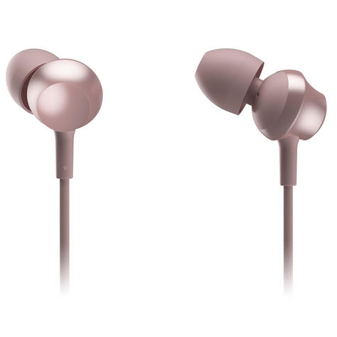 Panasonic RPTCM360EP  In-Ear 9.0mm Unit Headphones With Remote & Mic-Rose Gold Thumbnail 2