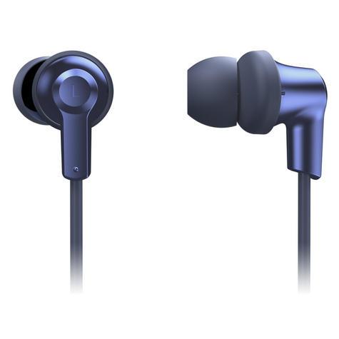 Panasonic RPNJ300BEA Wireless Ergo-Fit Bluetooth In Ear Buds Earphones-Blue-New Thumbnail 3