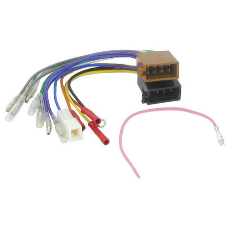 C2 20UV04 Feamle ISO Wiring Harness Adaptor to Bare Wiring Loom Lead - NEW Thumbnail 1