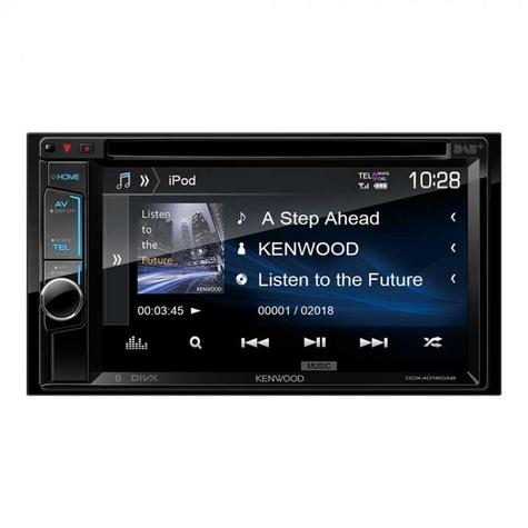 "Kenwood DDX 4018DAB Double Din 6.2"" Car Stereo DVD/Bluetooth/Usb & DAB + Radio Thumbnail 4"