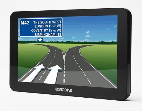 Snooper Bus & Coach S6810 7? GPS Sat Nav FREE LIFETIME UK/EUROPE Maps & Traffic Thumbnail 3