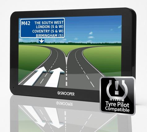 Snooper Bus & Coach S6810 7? GPS Sat Nav FREE LIFETIME UK/EUROPE Maps & Traffic Thumbnail 2