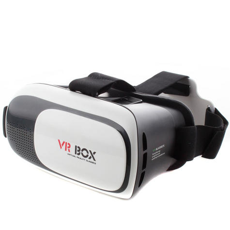 Pama VRB-3D Virtual Reality Glasses With Adjustable Lenses For Smart Phones -NEW Thumbnail 2