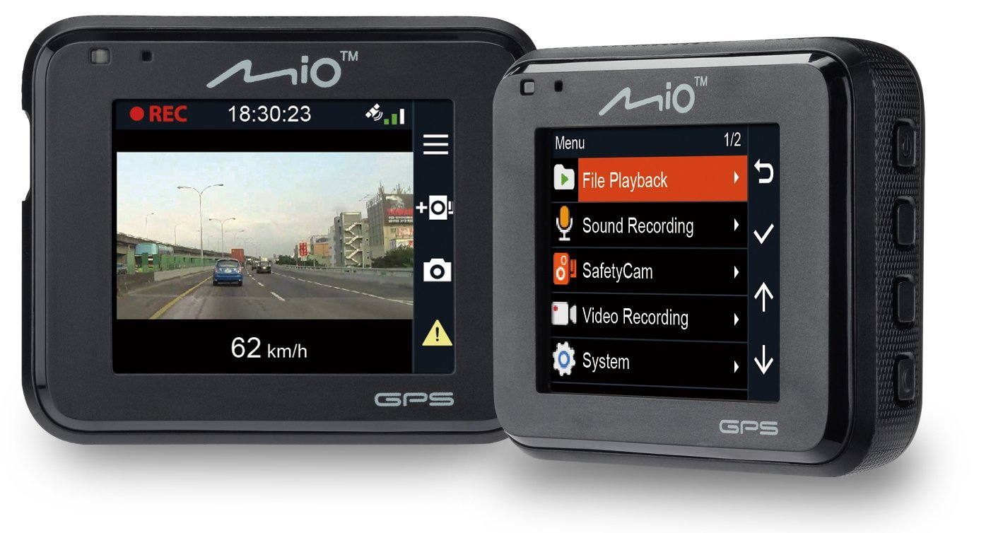 Mio MiVue C330|Full HD Dash Camera+Integrated GPS|Accident Recorder|SafetyCamera