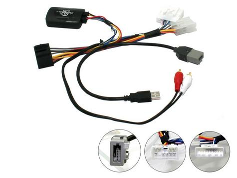 C2/Autoleads Stalk Interface (needs H/U fly lead) fits Toyota AYGO - 2014> Thumbnail 1