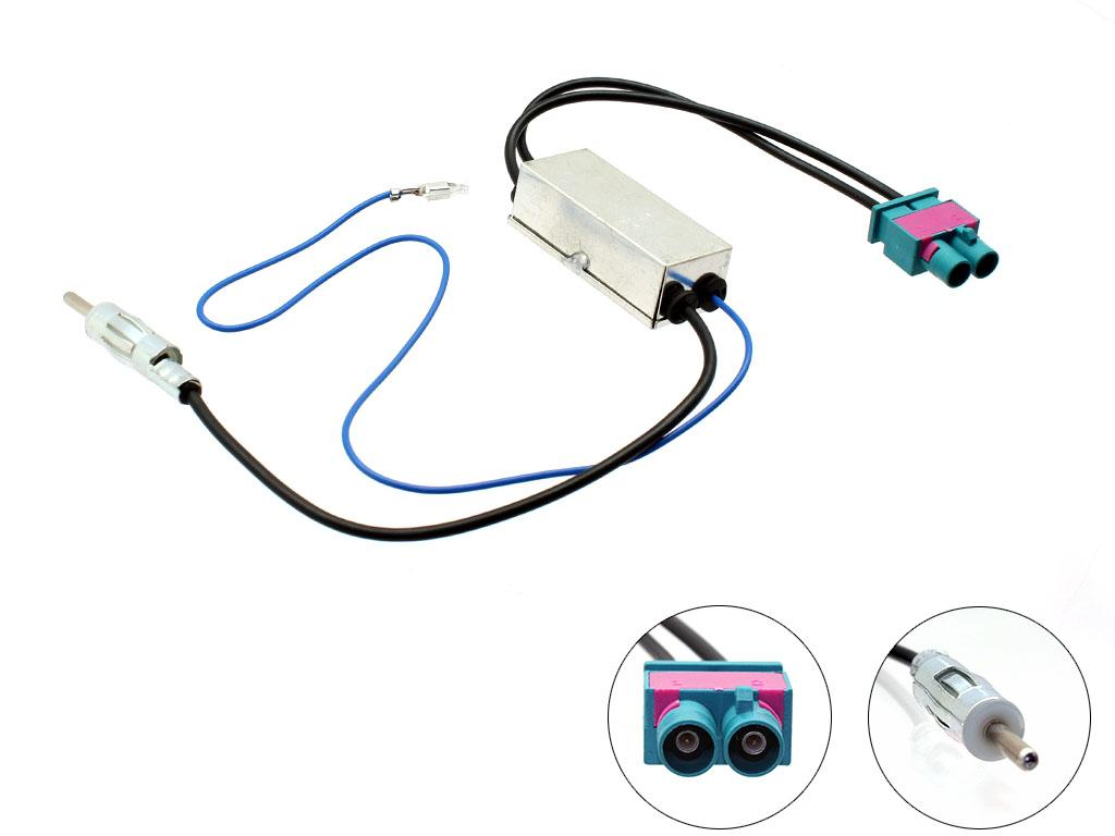 Seat/Skoda/Vauxhall//Connects2 27AA56 Car Stereo ISO Harness Adaptor ...