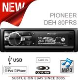 Pioneer CD MP3 Dual USB AUX Bluetooth SD Slot iPod/iPhone Control Car Stereo NEW
