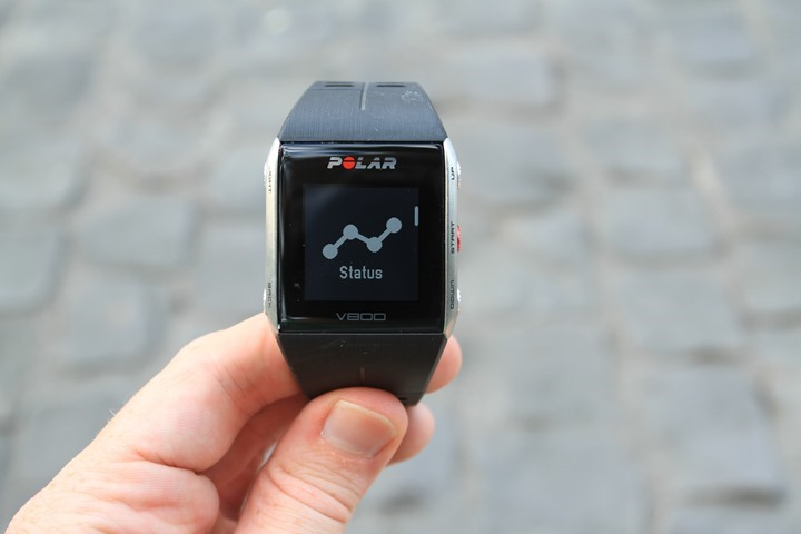 Polar Black V800 Water Resistant Heart Rate Monitor ...