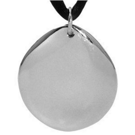 Q-Link SRT-3 Pendant - Silver Pebble (Polished) Thumbnail 4