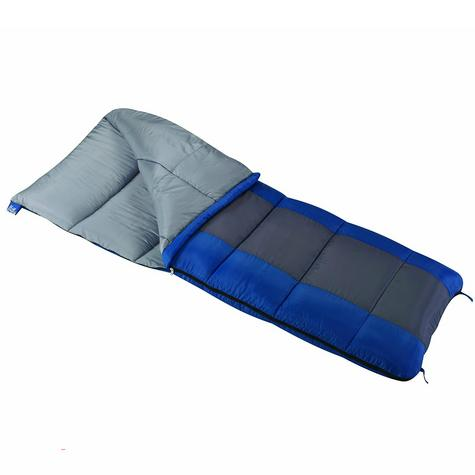 Wenzel Sunward 30° Sleeping Bag - 4lb - Regular - Blue/Gray Thumbnail 1